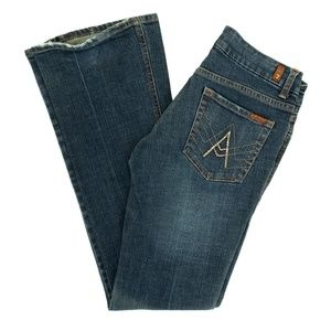 "7 For All Mankind Jeans ""A"" Pocket Flare Wide Leg"